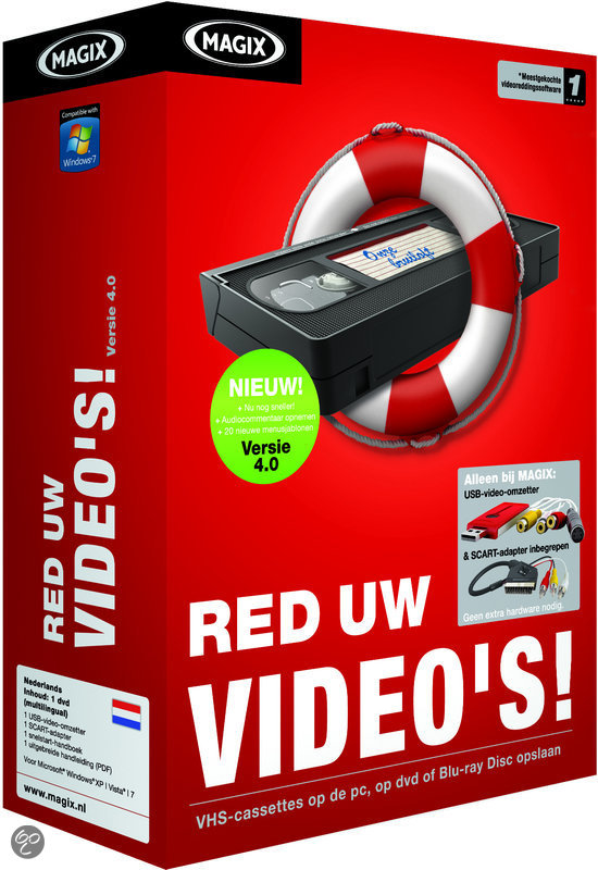 Magix Red Uw Video's 4.0 - Nederlands