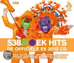 538 EK Hits - De Officile EK 2012 Cd