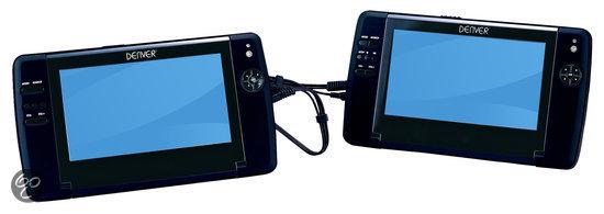 Denver MTW-735 - Portable DVD-speler met twee 7 inch schermen