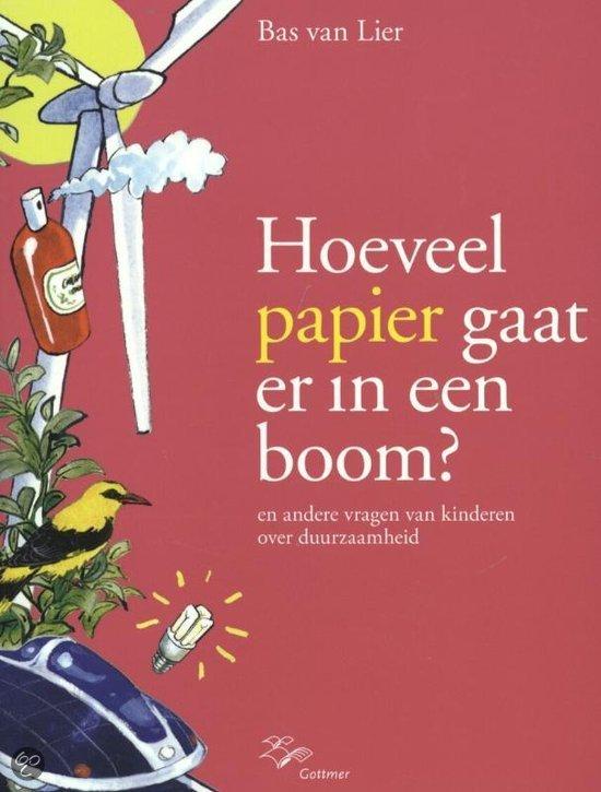 Hoeveel papier gaat er in een boom ?