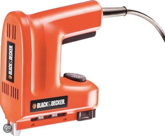 black decker kx418r elektrische tacker ook geschikt voor spijkers. Black Bedroom Furniture Sets. Home Design Ideas