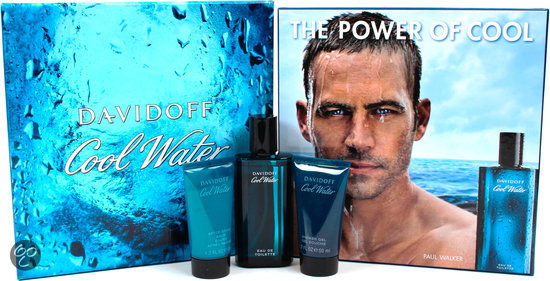 Davidoff Coolwater for Men - 3 delig - Geschenkset