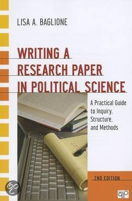 writing a research paper in political science a practical guide to inquiry structure and methods