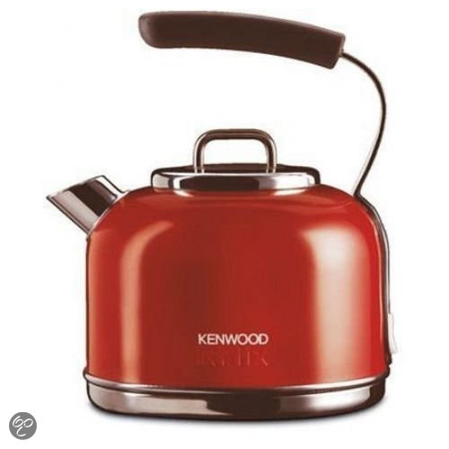 Rode Keukenapparaten : Kenwood Stainless Steel Kettle