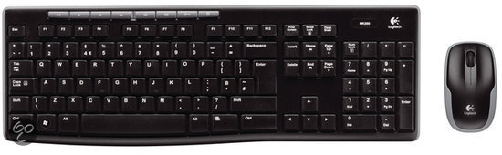 Logitech MK260 - Toetsenbord / Wireless / US layout