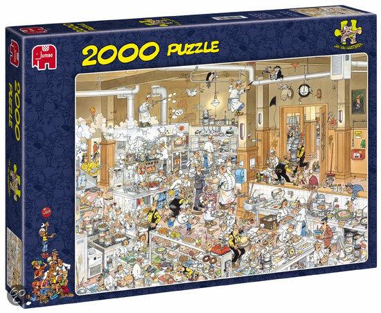 Jan van Haasteren De Keuken - Puzzel