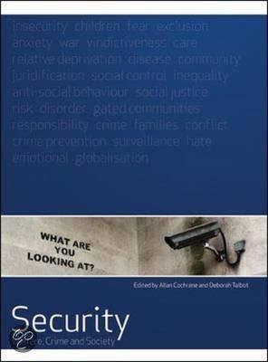 DD208 Welfare, crime and society