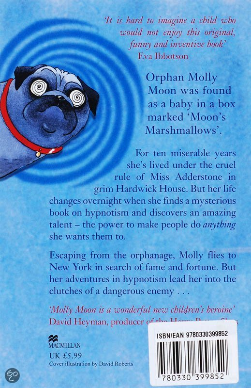 "an analysis of the book incredible book of hypnotism It's a hard-knock life for the urchins of hardwick house orphanage — and no  spring picnic for the rest of us, either — in ""molly moon and the."