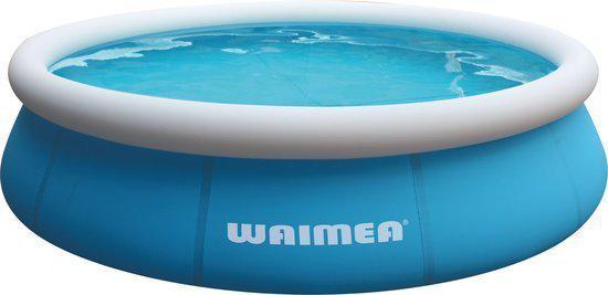 Waimea Opblaasbaar Zwembad - Quick Up - 305x65cm - inclusief 12V Filterpomp - Aqua