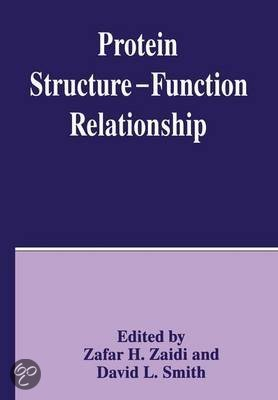relationship between structure and function of a protein