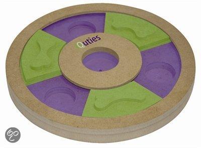 Iquties Treat Wheel Hondenspel 25x25x3 cm