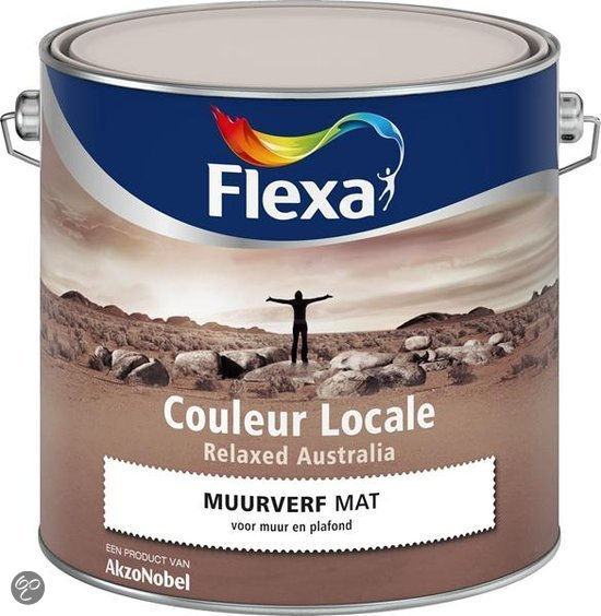 Flexa Couleur Locale - Muurverf Mat - Relaxed Australia Light - 2015 ...