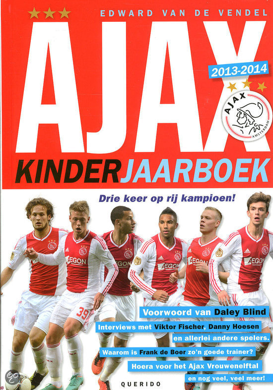 Ajax kinderjaarboek / 2013-2014