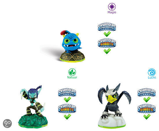 Skylanders Spyro's Adventure Triple Pack Stealth Elf, Wrecking Ball, Sonic Boom Wii + PS3 + Xbox360 + 3DS + Wii U + PS4