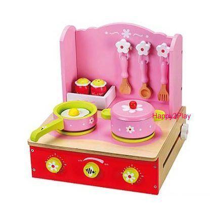 Speelgoed keuken opklapbaar roze - Tafel roze kind ...