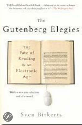 into the electronic millennium by sven birkerts essay This worry is the starting point for sven birkerts's collection of essays the gutenberg elegies, which focuses on the epochal shift he sees occurring between print and electronic media.