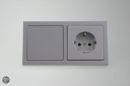 busch jaeger future linear inbouw afdekplaat 2. Black Bedroom Furniture Sets. Home Design Ideas