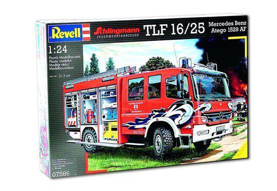 Revell Brandweerwagen Tlf Mercedes
