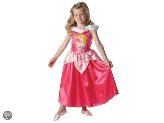 Prinsessenjurk Classic Doornroosje - Kostuum - Maat M