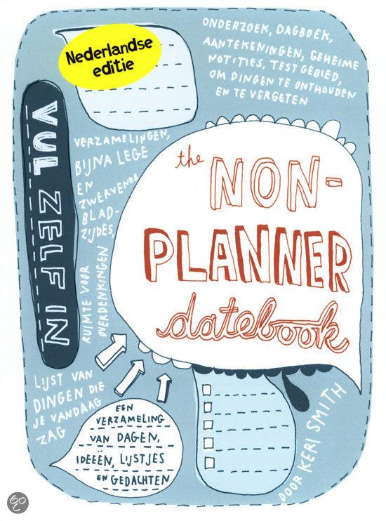 The Non-Planner Datebook by Keri Smith - Little Otsu