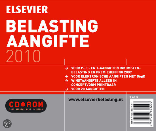 Elsevier Belasting Aangifte 2010