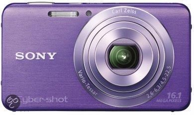 Sony Cybershot DSC-W630 - Paars