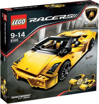 LEGO Racers Lamborghini Gallardo 8169