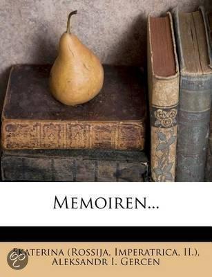 Memoiren...