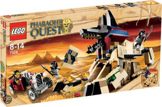 LEGO Pharaoh's Quest De Sfinx Herrezen - 7326