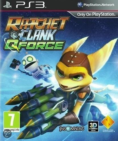 Ratchet & Clank, QForce  PS3