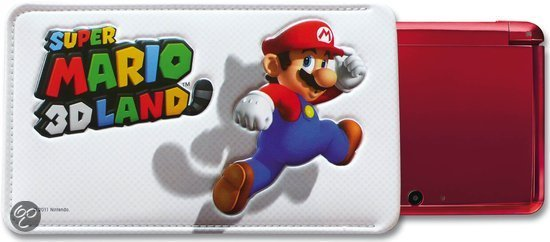 Nintendo Super Mario 3D Land Beschermhoesje Wit 3DS