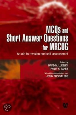 short essay questions mrcog part 2