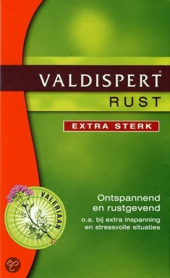 Valdispert Rust Extra Sterk - 50 Dragees