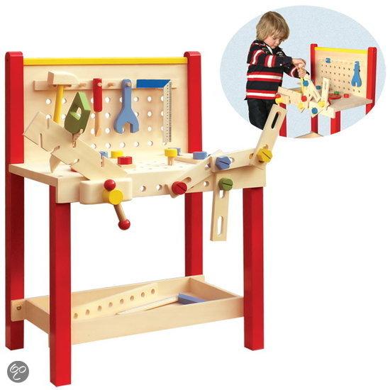 beste houten werkbank voor uw kind het leukste houten speelgoed. Black Bedroom Furniture Sets. Home Design Ideas