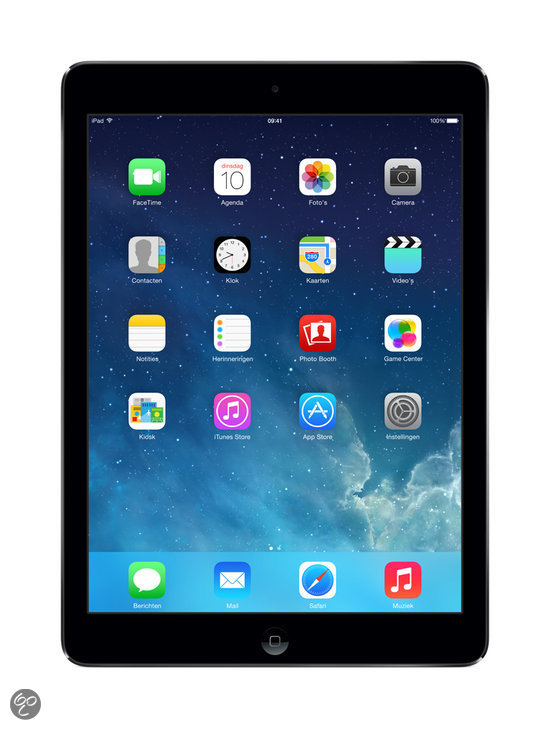 Apple iPad Air 16GB WiFi - Zwart