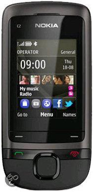 Nokia C2-05 - Zwart - T-Mobile prepaid telefoon