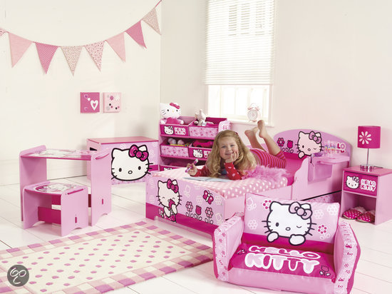 Kinderkamer Hello Kitty : Hello Kitty Junior Bed zonder lades ...