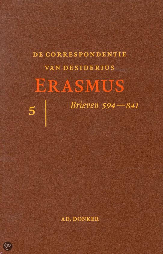 De Correspondentie Van Desiderius Erasmus / 5  ISBN:  9789061005919  –  Desiderius Erasmus