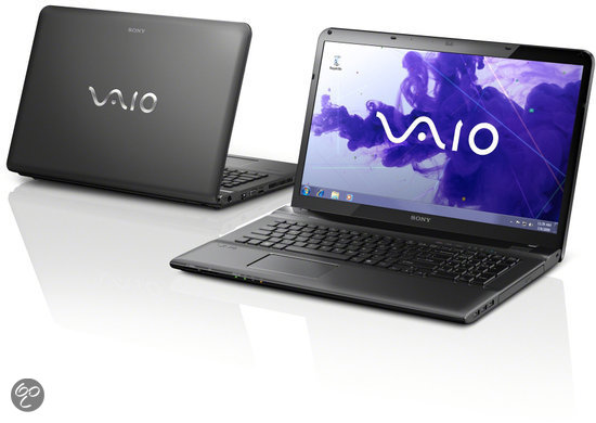 Sony Vaio SVE1711V1EB Laptop - Intel i5-2450M 2.5 GHz / 6GB DDR3 RAM / 750GB HDD / AMD HD 7650M / 17.3 inch / QWERTY