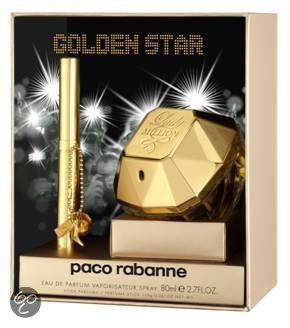 Paco Rabanne Lady Million Golden Star for Women - 2 delig - Geschenkset