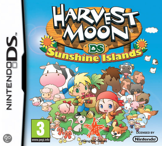 Harvest Moon 3, Sunshine Islands  NDS