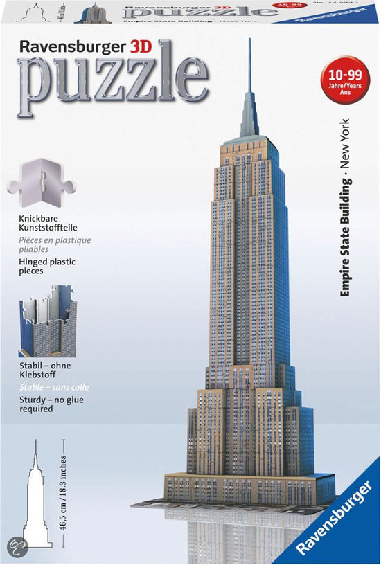 Ravensburger 3D Puzzel - Empire State Building