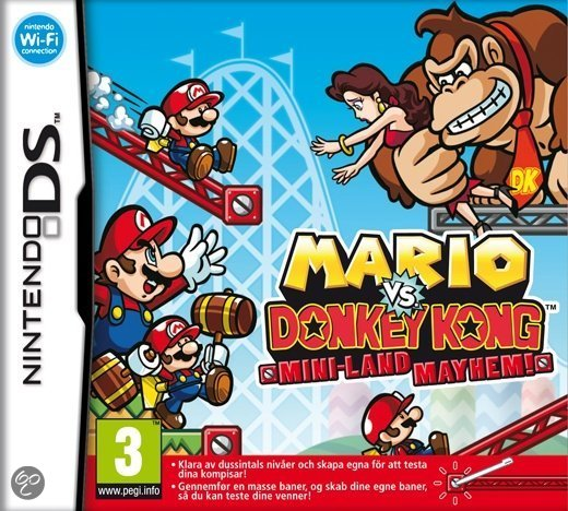 Mario Vs Donkey Kong 3 -  Mini-Land Mayhem