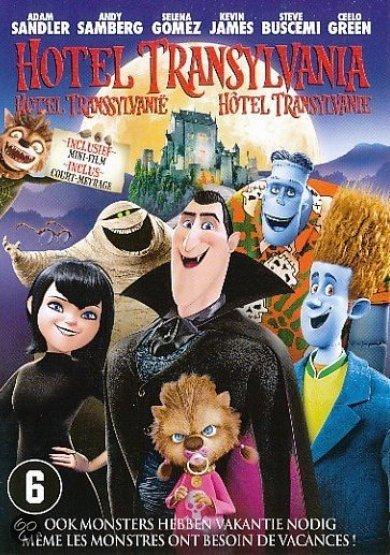 Cover van de film 'Hotel Transsylvanië'