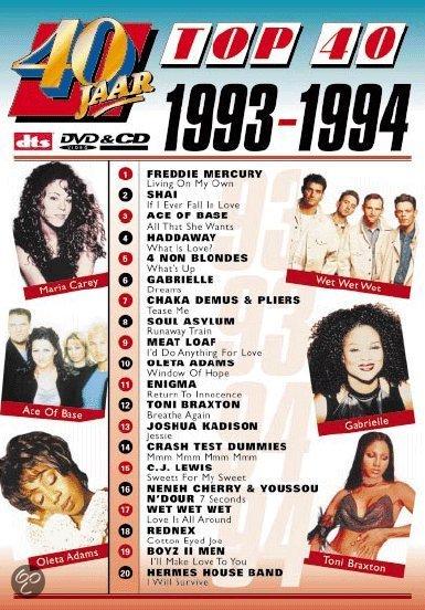 40 Top Summer 2013 Fashion Trends: 40 Jaar Top 40/1993-1994, Various