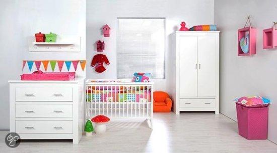 Bebies first toledo complete babykamer wit baby - Kleur babykamer meisje ...