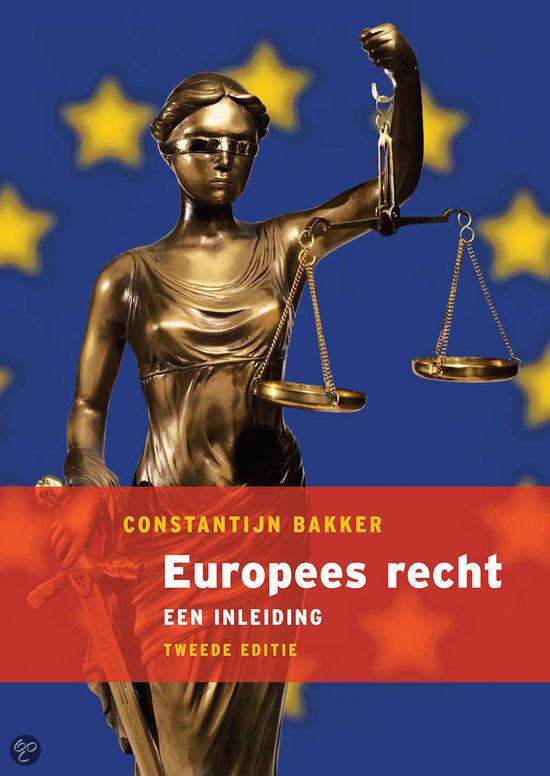 Europees recht, een inleiding