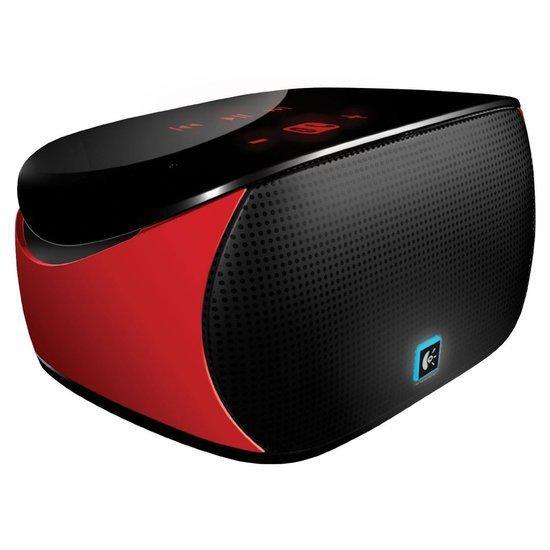 Logitech Mini Boombox - Bluetooth speaker - Rood