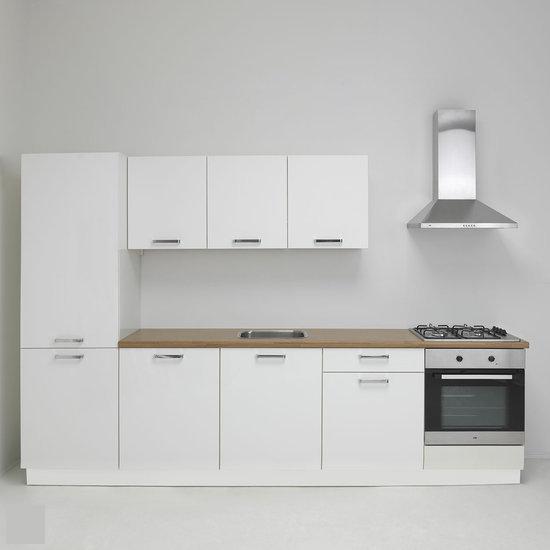De zuiderster keukens keukenmeubel nolte lux 08 keuken incl etna apparatuur wit hoog - Afbeelding van keuken amenagee ...