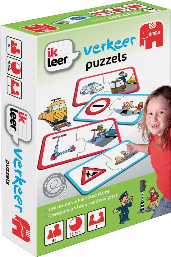 Ik Leer Verkeer Puzzels
